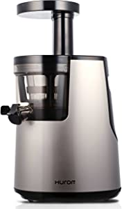 Hurom Elite Slow Juicer Model HH-SBB11 Noble Silver with Cookbook (Renewed)