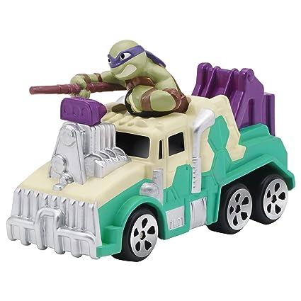 Teenage Mutant Ninja Turtles T-Machines Truck with Donatello Vehicle with Sound