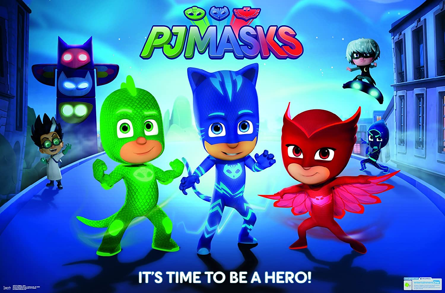 Amazon.com: Trends International PJ Masks Hero Wall Poster 22.375