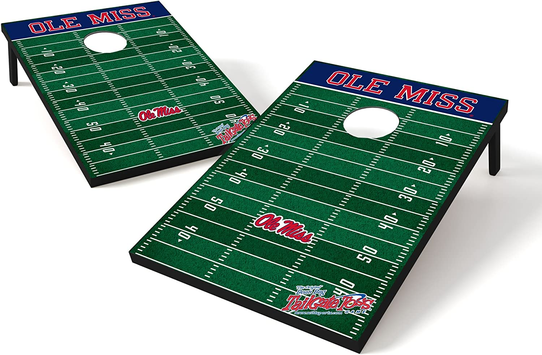 Wild Sports NCAA 2 x 3 Football Field Cornhole Bag Toss Game