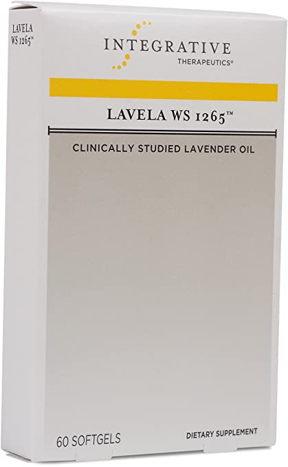 Integrative Therapeutics - Lavela WS 1265 - Clinically Studied Lavender Oil to Reduce Anxiety - 60 Softgels