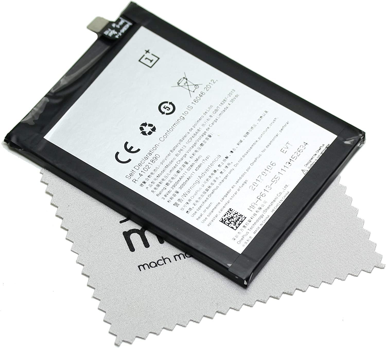 Batería para Oneplus Original BLP613 para Oneplus 3 + paño mungoo para Limpiar la Pantalla: Amazon.es: Electrónica