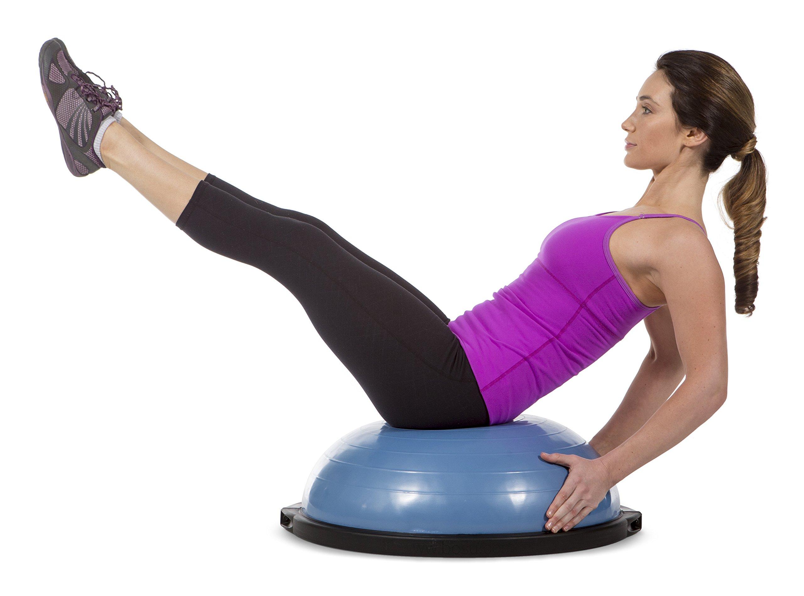 Bosu Balance Trainer, 65cm The Original - Blue/Blue by Bosu (Image #4)