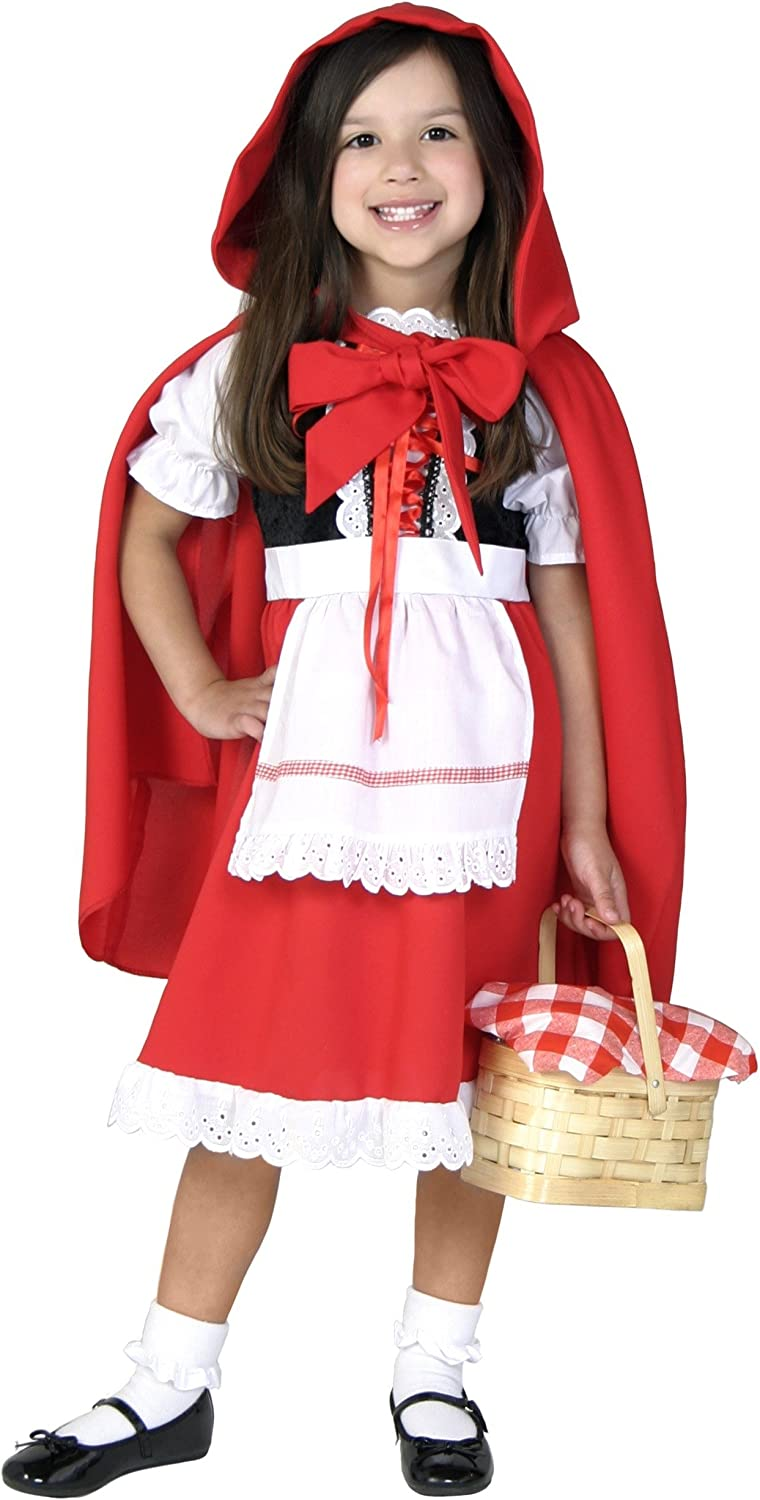 Deluxe Little Red Riding Hood Costume for Girls