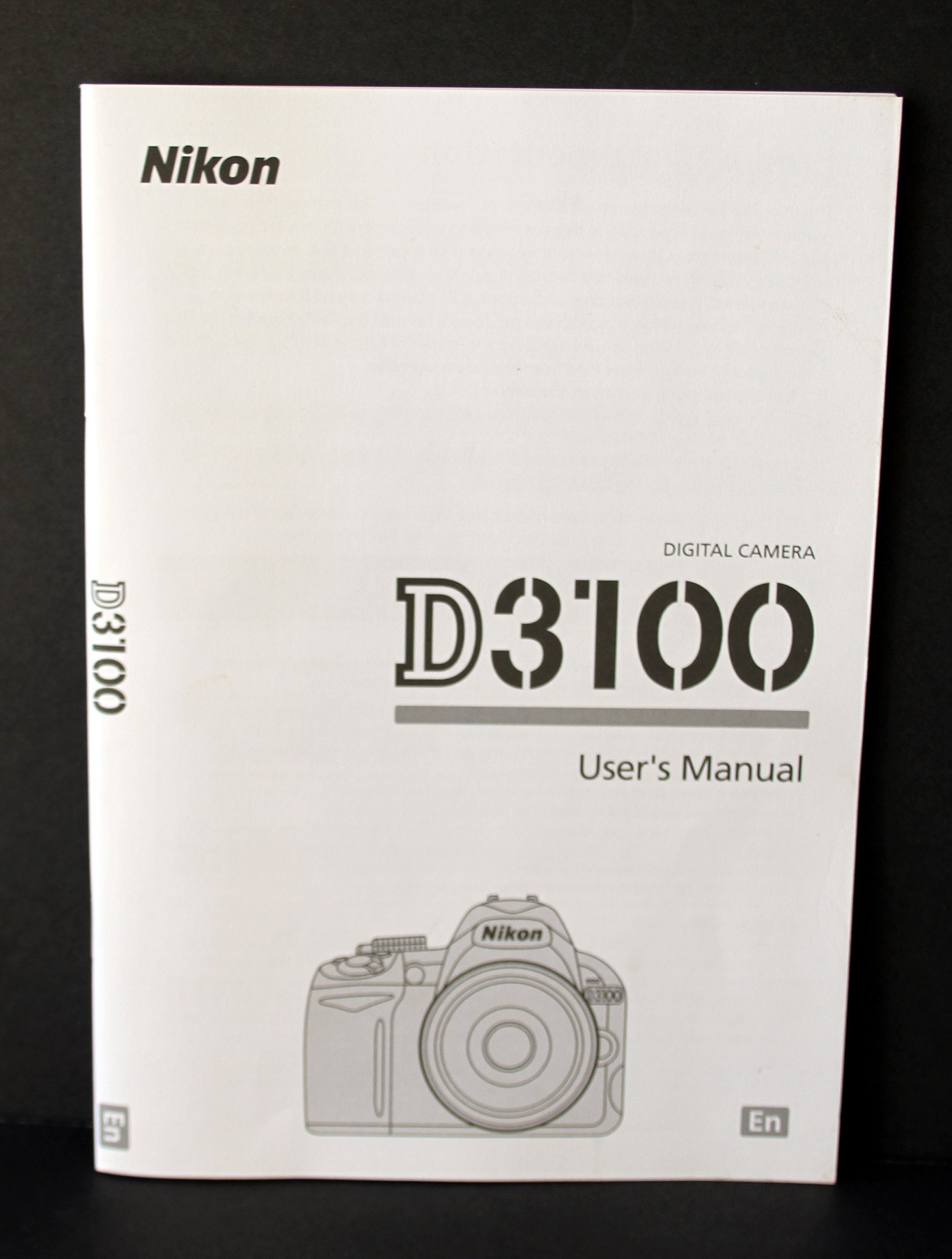 nikon d3100 user s manual nikon amazon com books rh amazon com d3300 user manual nikon d3100 user manual free download