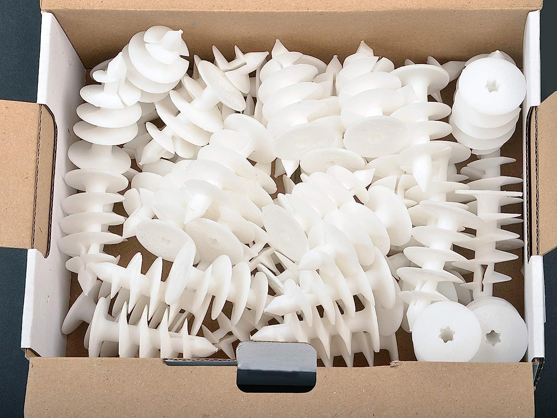 BSH® - 50 Tacos de aislamiento universal para placas de espuma rígida de poliuretano y poliestireno (poliestireno, 52 mm de longitud): Amazon.es: Bricolaje ...