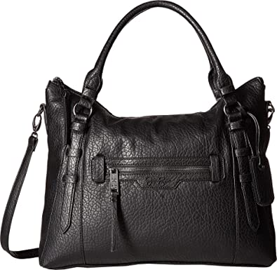 b06db3e8863 Amazon.com  Jessica Simpson Women s Everly Top Zip Tote Black One Size   Shoes