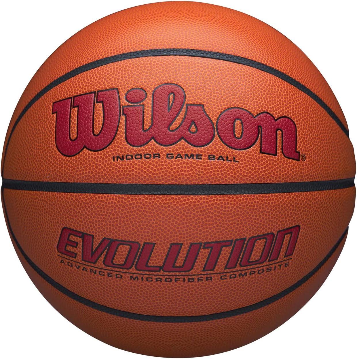Wilson WTB0595XB0705 Balón de Baloncesto, Evolution Game Ball ...