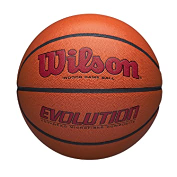 Wilson WTB0595XB0705 Balón de Baloncesto, Evolution Game Ball ...