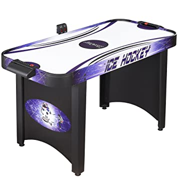 Hathaway Hat Trick 4 Ft Air Hockey Table For Kids And Adults With  Electronic And