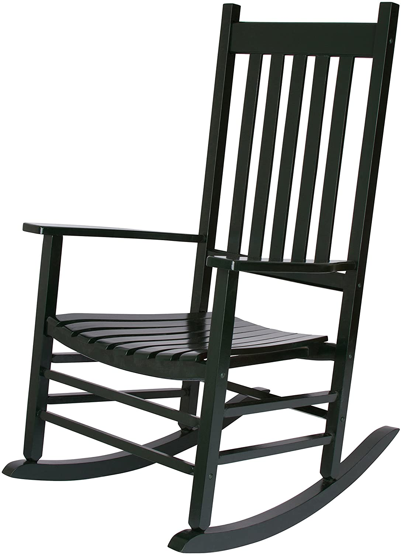 Shine Company 4332DG Vermont Rocking Chair, Dark Green