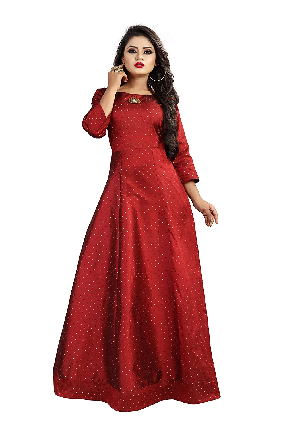 5af180d7f Gogurl Women's Western Gowns for Girls: Amazon.in: Clothing & Accessories
