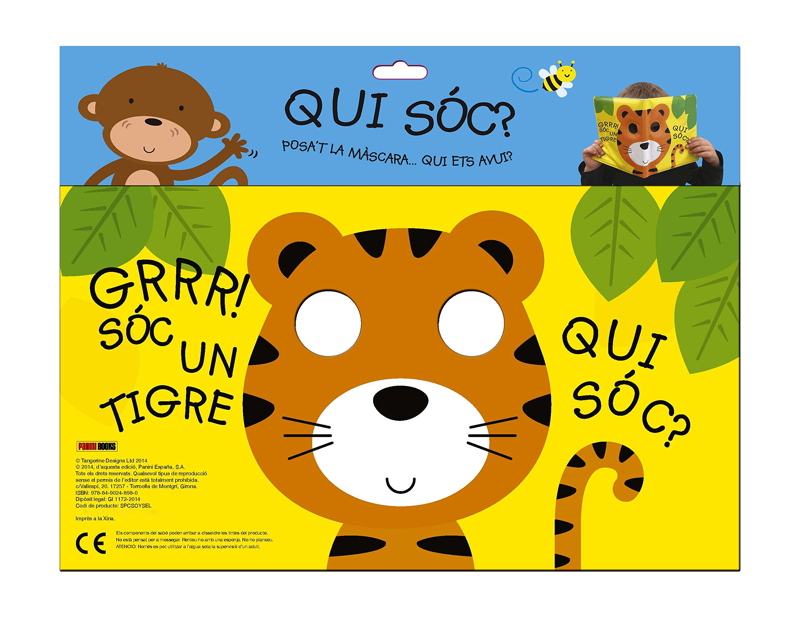 GRRR SOC UN TIGRE.(QUI SOC?): Vv.Aa.: 9788490248980: Amazon.com: Books
