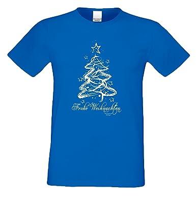 Geschenk Set Frohe Weihnachten Herren Sprüche Fun T Shirt