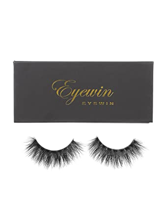 Eyewin False Eye Lashes Invisible Transparent Band 3D Mink Lash Extension Cruelty-free Reusable Glam