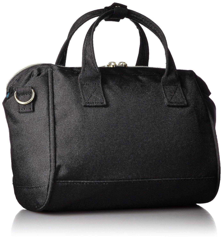 e6ec1bb5d41a Japan Anello MINI SMALL BLACK 2 Way Unisex Shoulder Bag Poly Canvas  Waterproof  Amazon.co.uk  Clothing