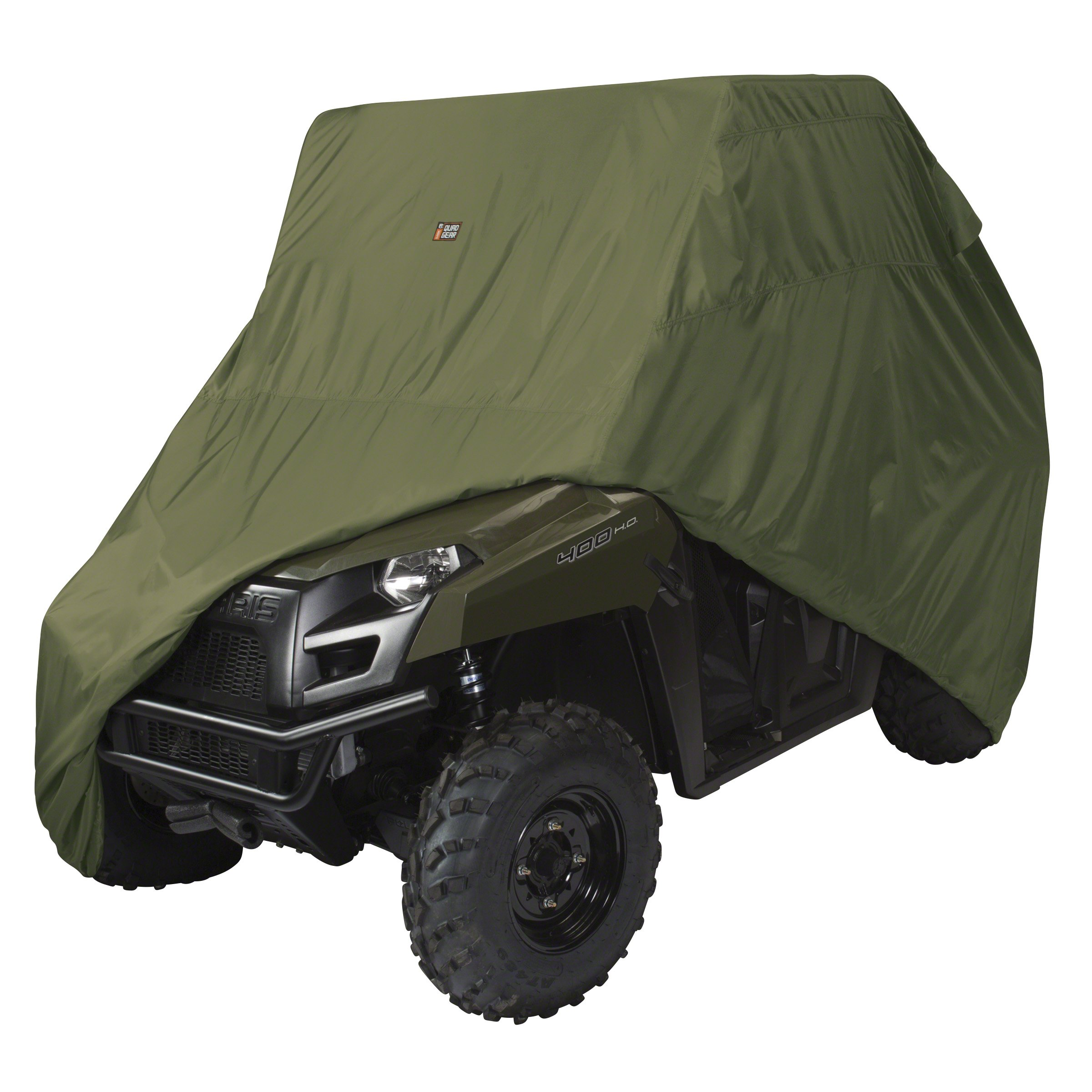 Classic Accessories Olive QuadGear UTV Storage Cover (For Mid Size 2 Passenger UTVs Up To 115''L 62''W 70''H) by Classic Accessories