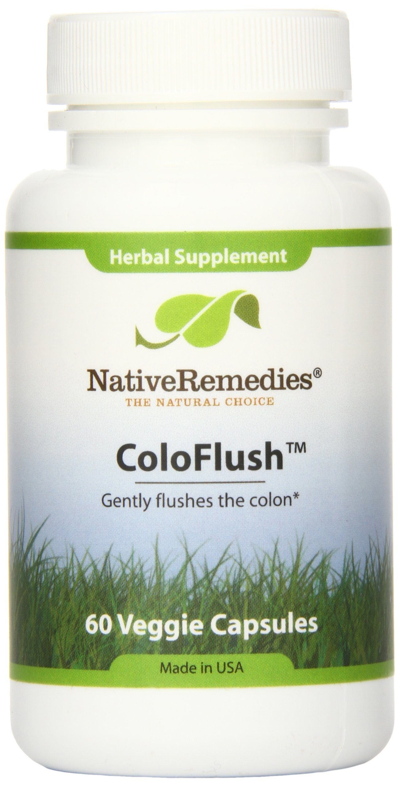 Native Remedies Coloflush Herbal Supplement Capsules, 1.78 Ounce
