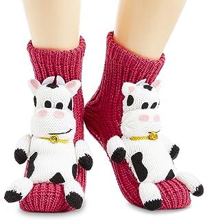 Mountain Warehouse Unicorn Kids Grippi Socks Lightweight Girls Non-Skid Socks Best for Yoga Home /& Active Use Breathable Boys Socks Easy Care