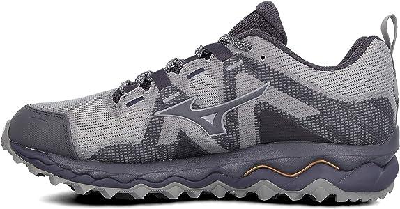 Mizuno Wave Mujin 6, Zapatillas de Running para Asfalto Hombre, Gris (Gray/Pscope/10135 C 36), 39 EU: Amazon.es: Zapatos y complementos