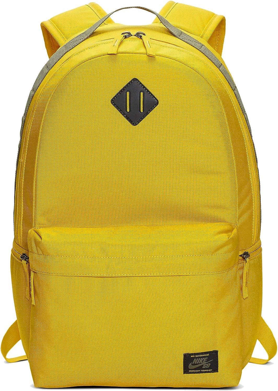 Vatio apodo reserva  Amazon.com: Nike SB Icon Backpack - Dark Sulfur/Medium Olive/Medium Olive  BA5727-743: Clothing