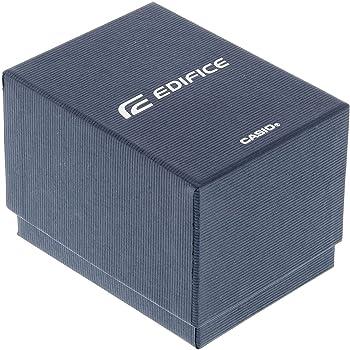Casio EDIFICE Reloj en caja sólida, 10 BAR, Negro, para Hombre, con Correa de Acero inoxidable, EFV-C100D-1AVEF: Amazon.es: Relojes