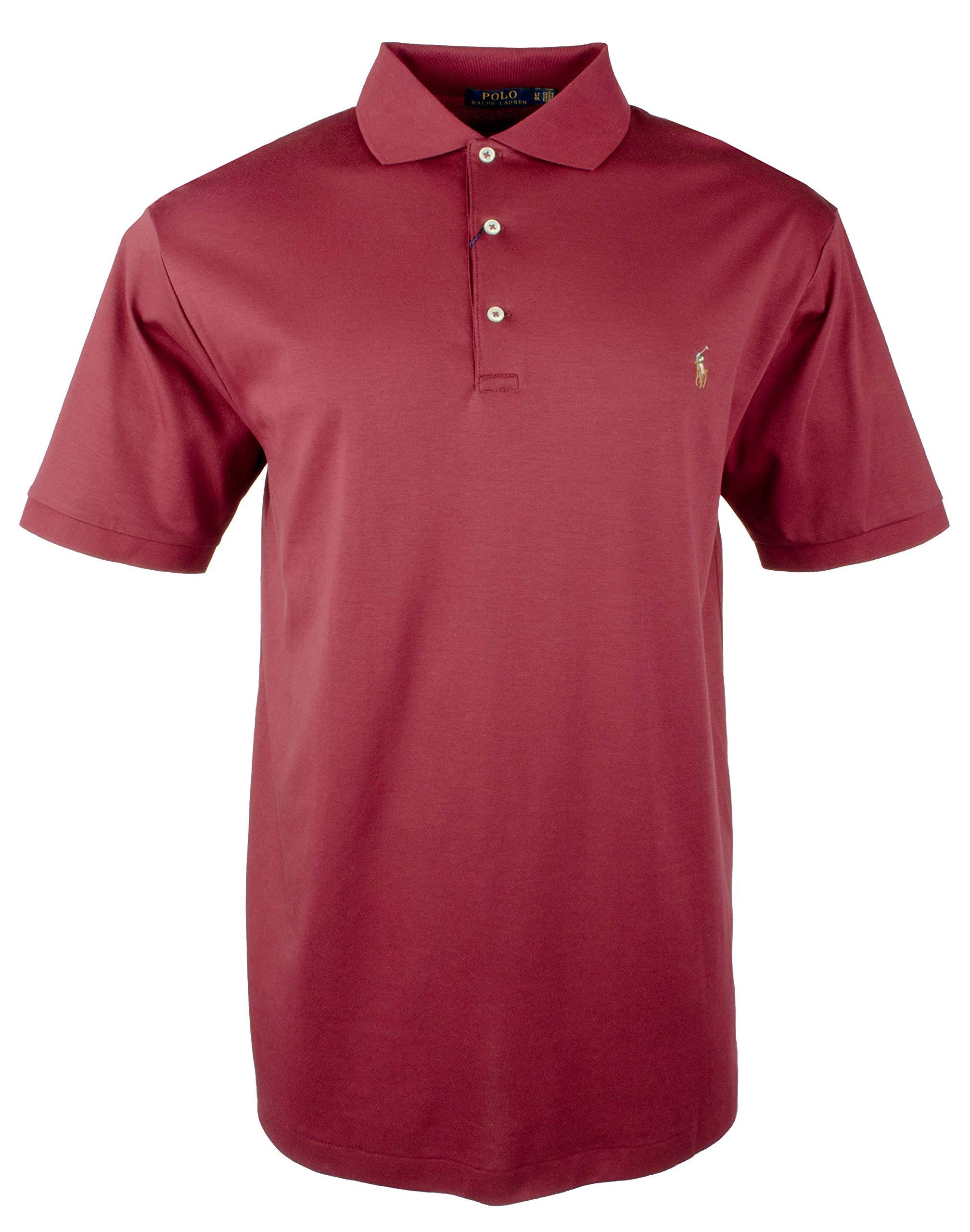Polo Ralph Lauren Men's Big & Tall Classic Fit Cotton Soft Polo Shirt-R-3LT by Polo Ralph Lauren (Image #1)