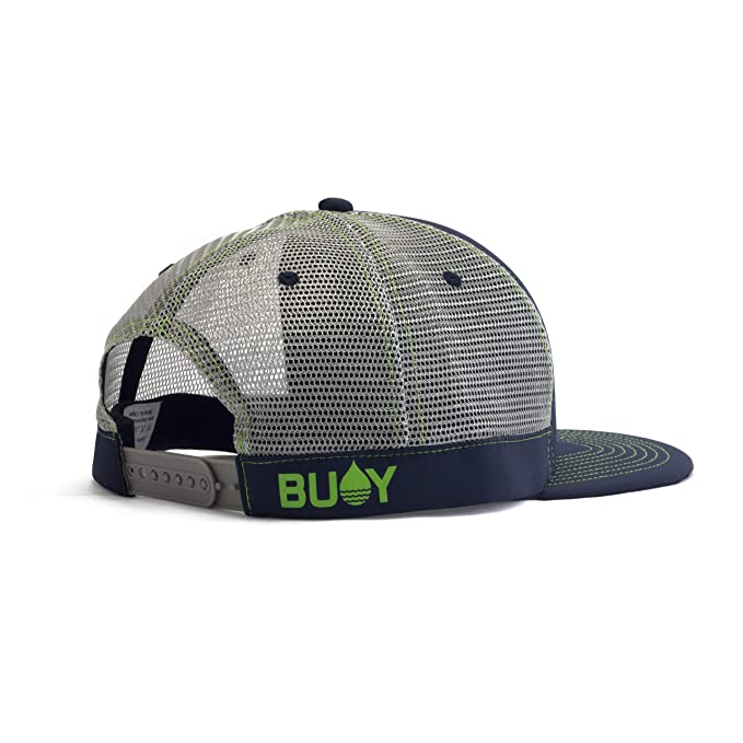 72fb771af939c Amazon.com: BUOY WEAR Floating Waterproof Trucker Hat with ...