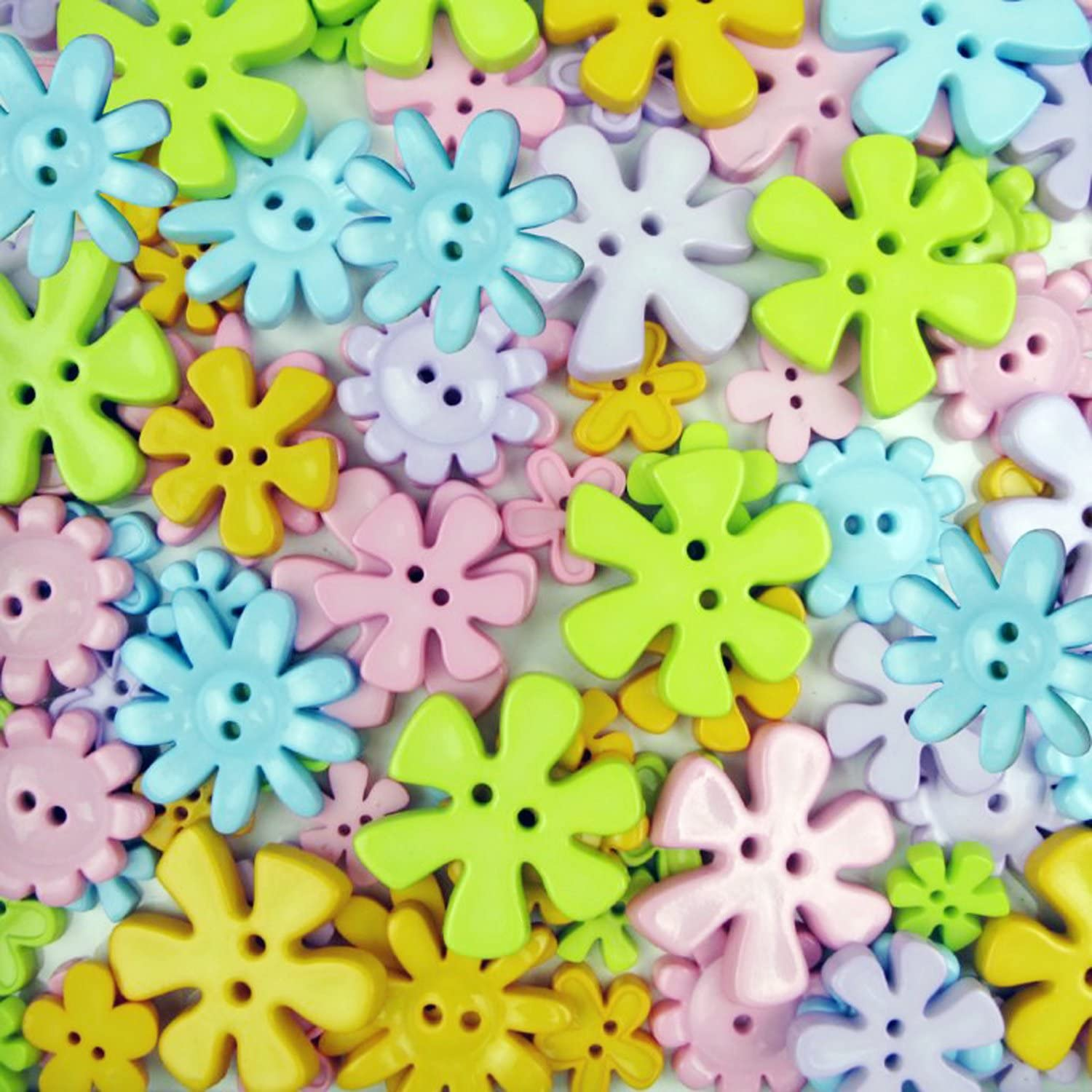 Favorite Findings Pastel Flowers for Arts and Crafts