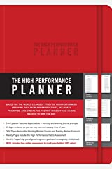 The High Performance Planner [Red] Diary