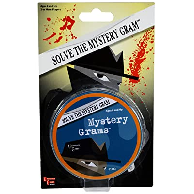 Mystery, Mind and Logic - Mystery Grams: Toys & Games