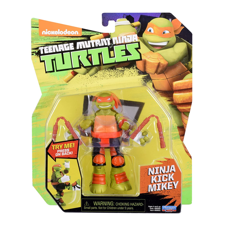 Toys 90622 Teenage Mutant Ninja Turtles Battler Michelangelo Action Figure Playmates