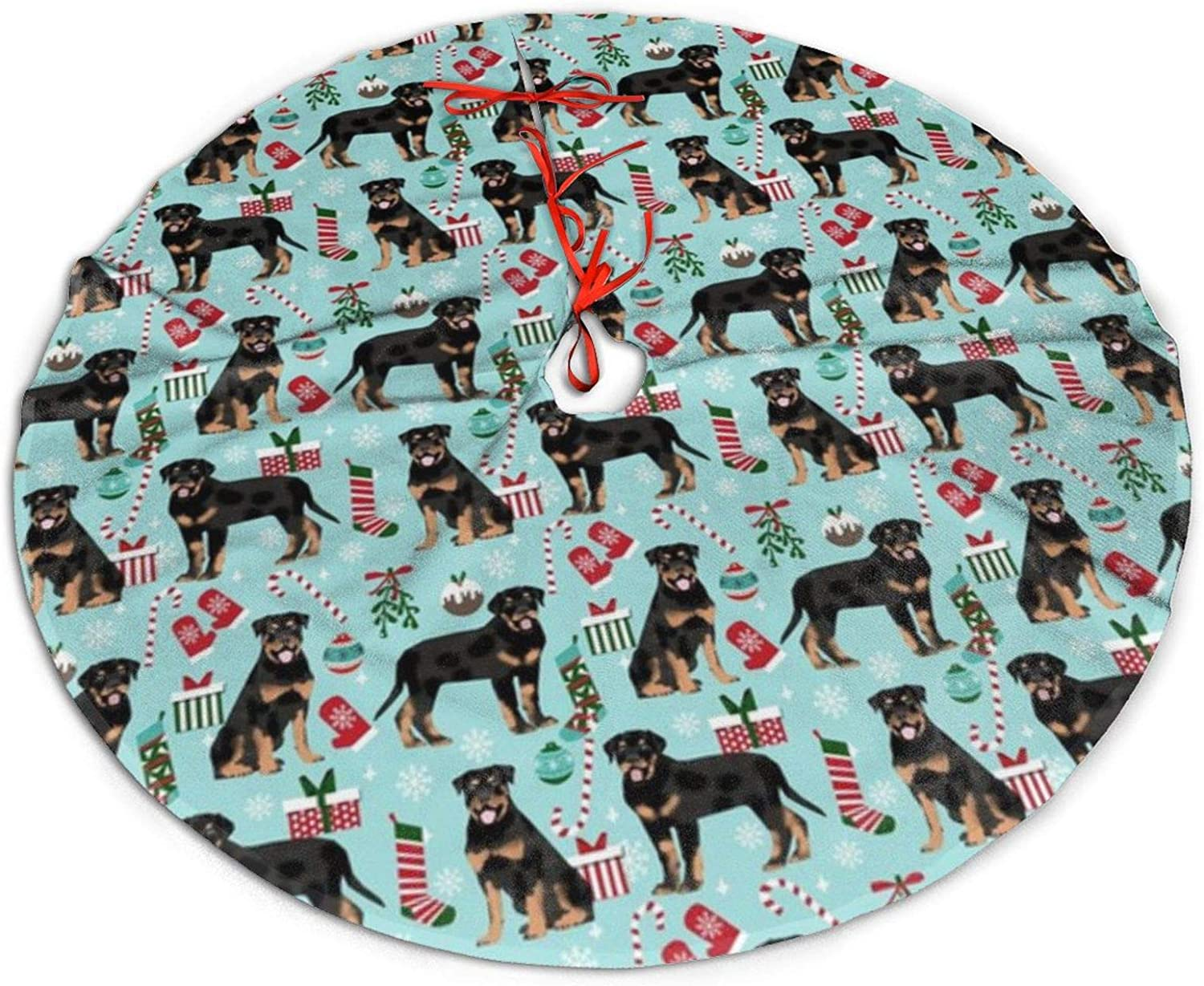 Rottweiler Rottie Christmas Kitchen Towel Holiday Pet Gifts