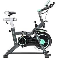 Cecotec Bicicleta de Spinning Extreme20 Uso Profesional. Pulsómetro. Pantalla LCD, Resistencia Variable. Estabilizadores. SilenceFit. Completamente Regulable