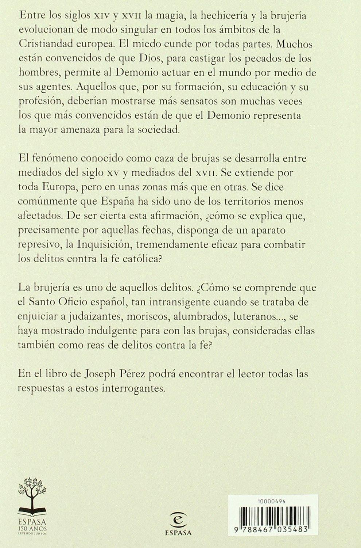 Historia de la brujería en España (ESPASA FORUM): Amazon.es: Pérez, Joseph: Libros