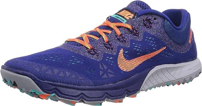Nike Air Zoom Terra Kiger 2, Zapatillas de Running para Hombre, Azul (Deep Royal Blue/Hyper Crimson/Hyper Jade), 42.5 EU: Amazon.es: Zapatos y complementos
