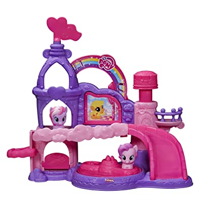 Playskool Friends Musical Celebration Castle Featuring My Little Pony: Toys & Games