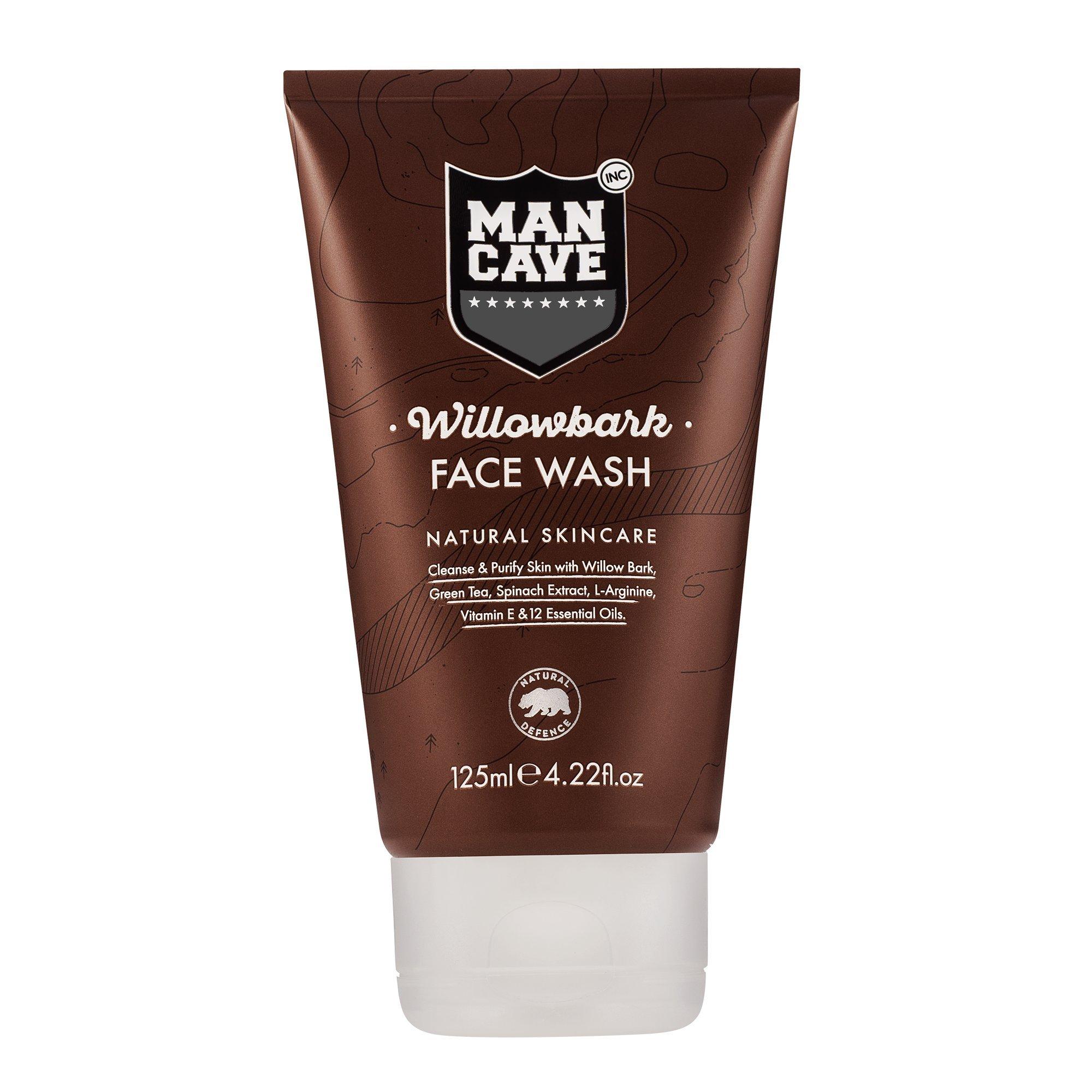 Man Cave Face Scrub : Amazon mancave natural cedarwood shower gel ml