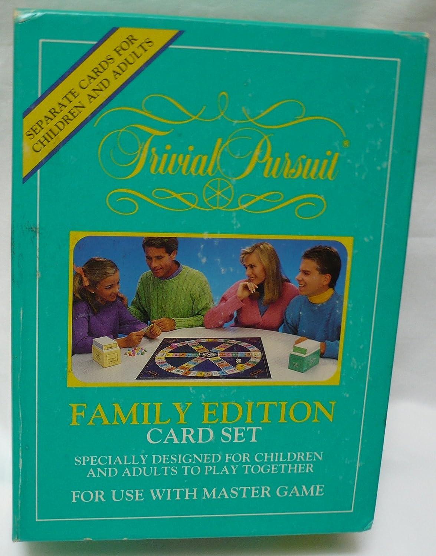 Trivia Pursuit Family Edition Card Set B000FQBPDK