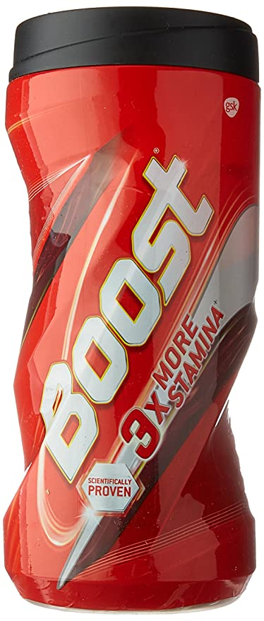 Boost Health, Energy and Sports Nutrition drink - 450 g Jar