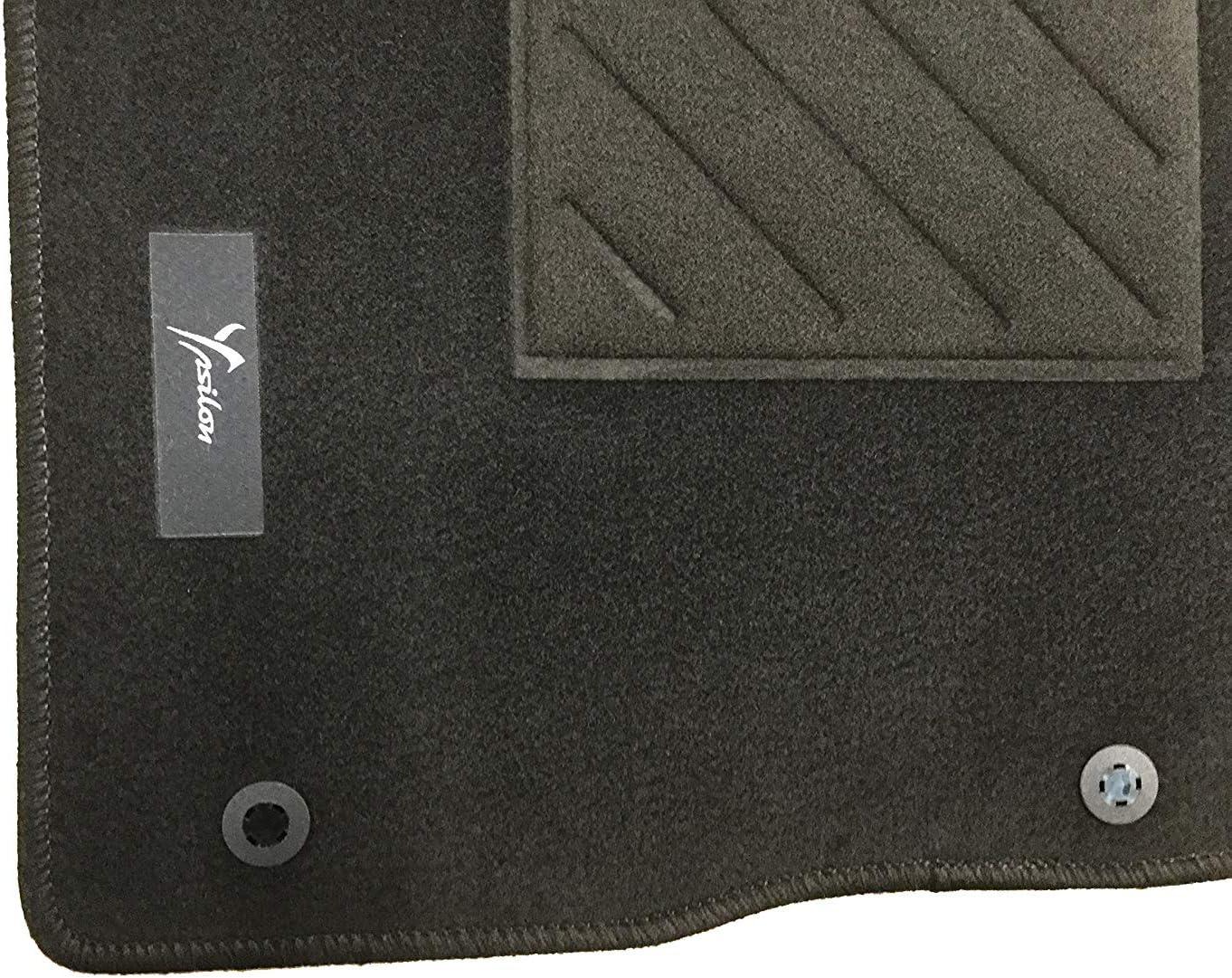 Lance Tapis en moquette noire avec logo originales New Ypsilon