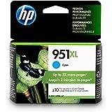 HP 951XL Ink Cartridge, Cyan High Yield (CN046AN) for HP Officejet Pro 251, 276, 8100, 8600, 8610, 8620, 8625, 8630