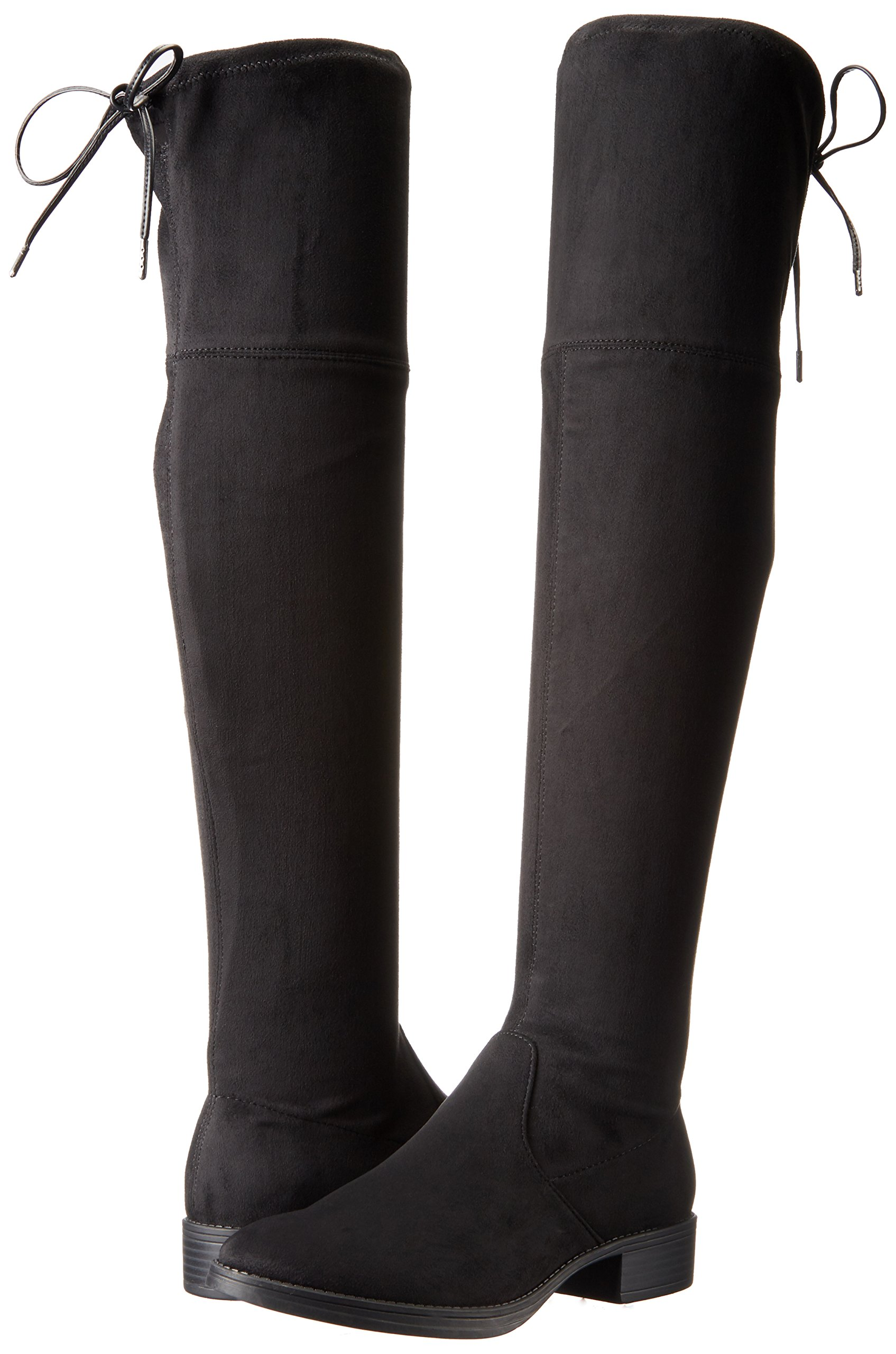 Circus by Sam Edelman Women's Peyton Over The Knee Boot, Black, 6.5 Medium US by Circus by Sam Edelman (Image #6)
