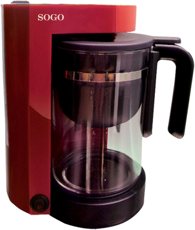 Sogo SS-5610 - Cafetera tetera electrónica combo 2 en 1, color ...