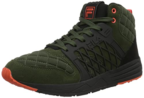 kupować nowe Najnowsza moda kody promocyjne Fila Men's Striker Q Mid Low-Top Sneakers Multicolour Size ...