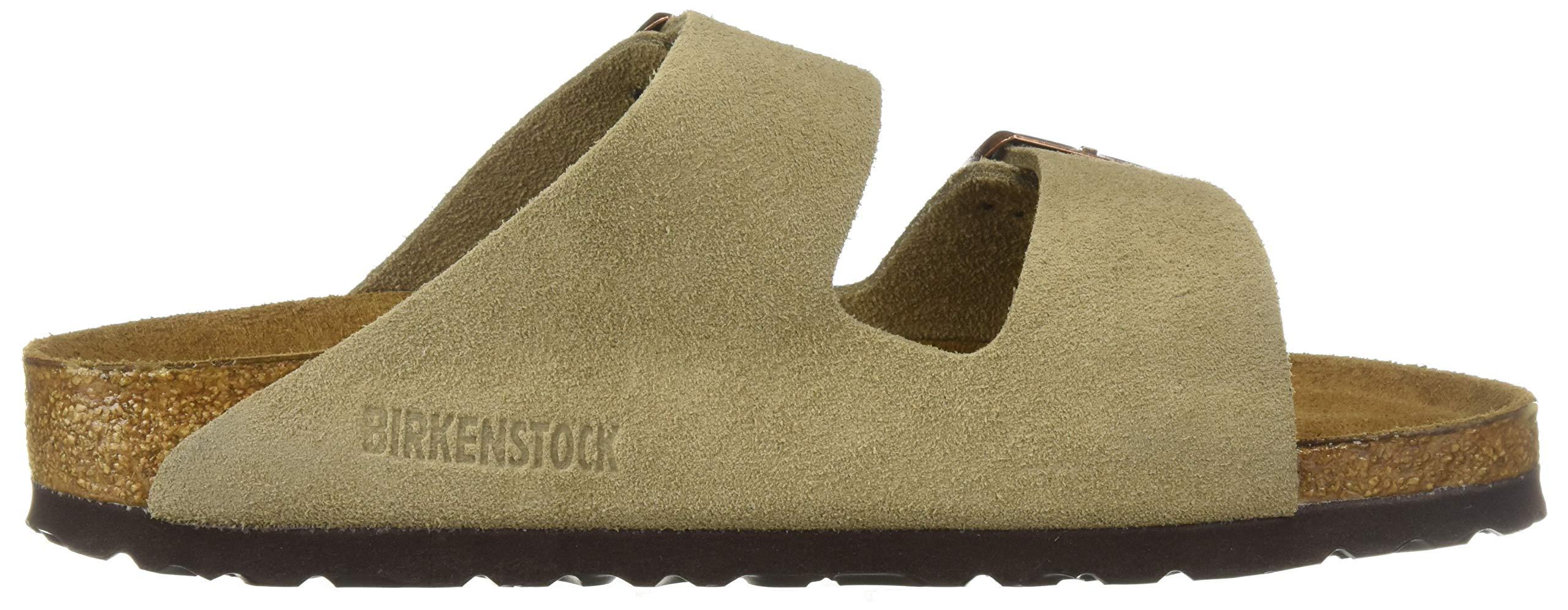 Birkenstock Arizona Soft Footbed Taupe Suede Regular Width - EU Size 35 / Women's US Sizes 4-4.5 by Birkenstock (Image #7)