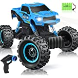 RC Car 2021 Newest 1/12 Scale Remote Control Car, 2.4Ghz Off Road RC Trucks with Rechargeable Battery Dual Motors Off Road RC