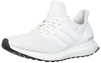 wholesale dealer ce7dc 9e89c adidas Men s Ultraboost Road Running Shoe, White White White, ...
