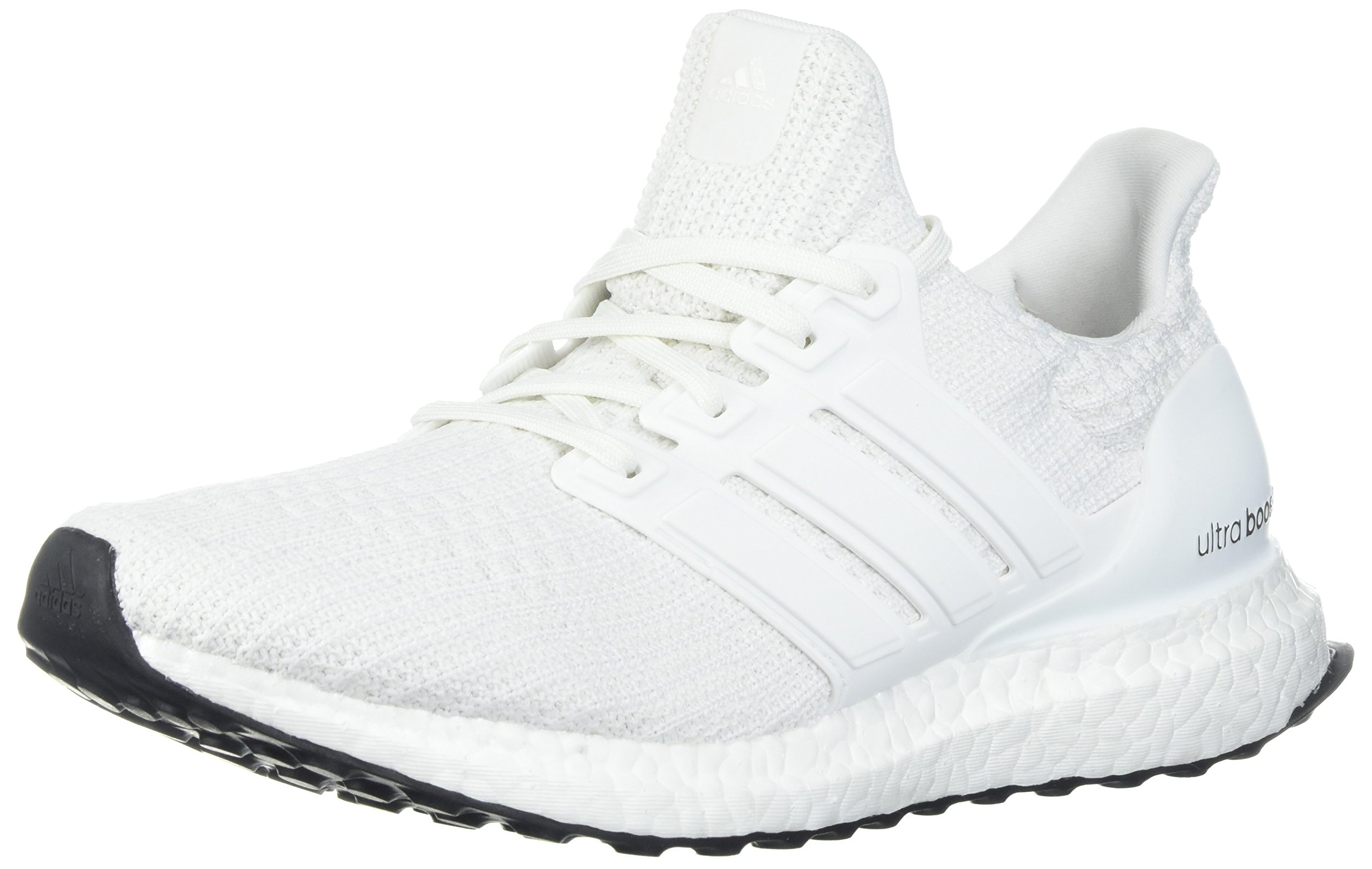 Adidas Men's Ultraboost Road Running Shoe, White/White/White, 9.5 M US