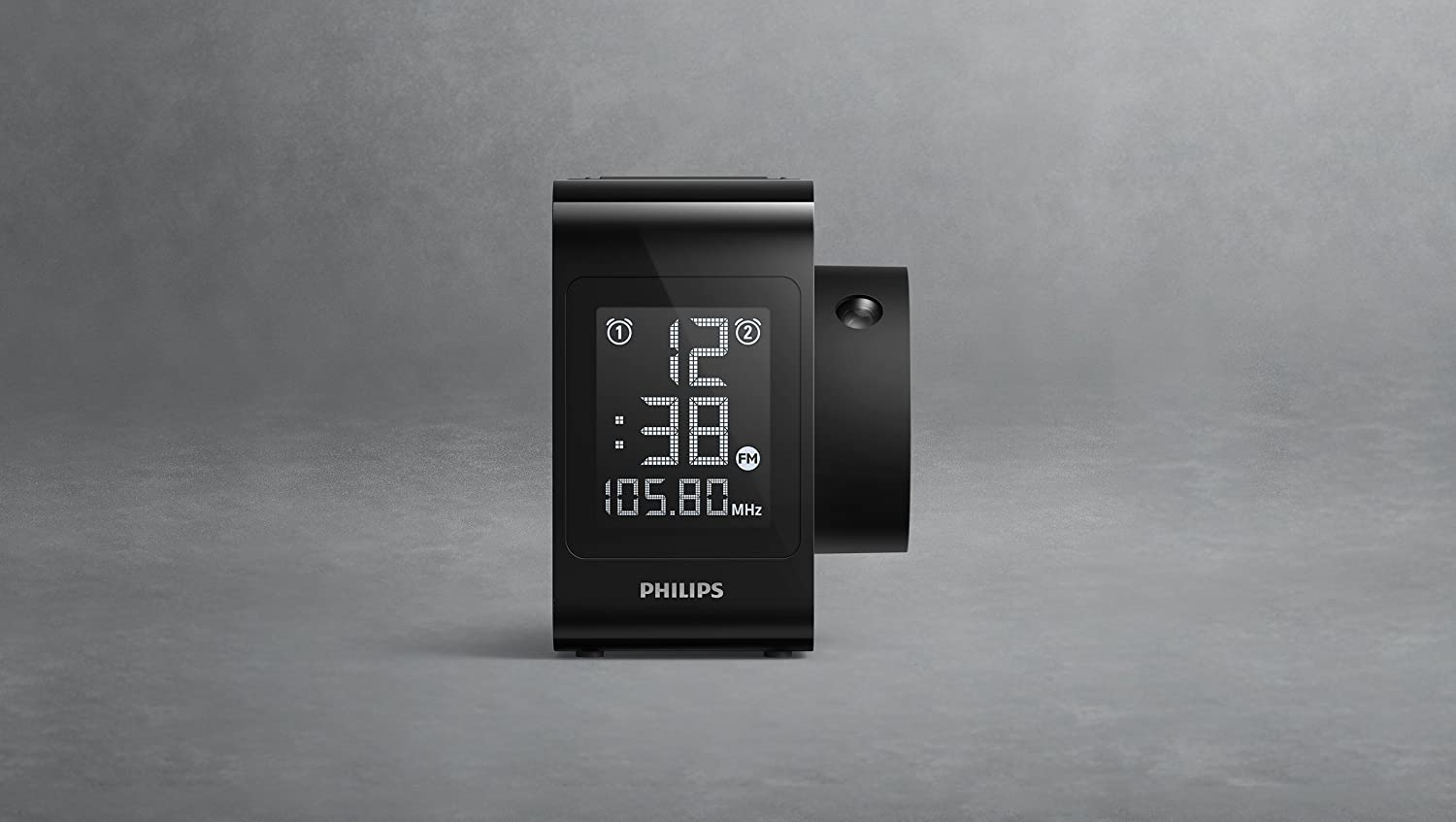 Philips AJ4800 - Radio Reloj con proyección de Hora (Radio Digital, Alarma Dual), Color Negro: Philips: Amazon.es: Electrónica